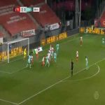 Utrecht 2-[1] Willem II - Sebastian Holmen 57'