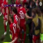 Chelsea 1 - [1] Bayern Munich - Sarah Zadrazil 29' (Great goal) | Women's Champions League