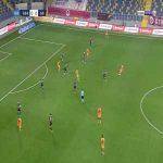 Genclerbirligi 0-1 Galatasaray - Ibrahim Dervisoglu 44'