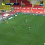 Monaco 1-0 Lyon - Kevin Volland 25'
