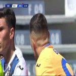 Pierluigi Gollini (Atalanta) red card vs. Sassuolo (22')