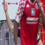 Krzysztof Piątek (Hertha Berlin) big miss vs. Mainz (82')