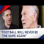 Gary Neville grills ex-PL CEO Richard Scudamore on Super League and more
