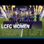 Leicester City FC Women Lift The FA Women's Championship Trophy at King Power Stadium! | 2020/21