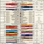 [OC] Cherry's Fixture Cheat Sheet for Thursday, May 6th
