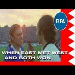 When East Germany met West Germany in a world cup game