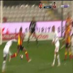 Lens 0-3 Lille - Jonathan David 60'