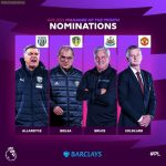 PL Manager of the Month nominees for April 2021