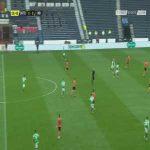 Dundee Utd 0-[1] Hibernian: Kevin Nisbet 27'