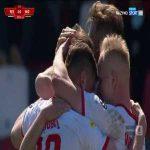 Resovia 2-0 Widzew Łódź - Przemysław Zdybowicz 90+1' (Polish I liga)