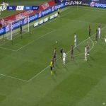 Bologna 0-2 Genoa - Gianluca Scamacca penalty 61'