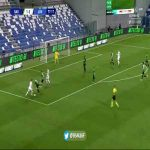 Cristiano Ronaldo ankle breaker + hits the post