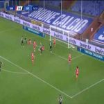 Sampdoria 0-1 Spezia - Tommaso Pobega 15'