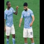 Sterling apologizes for stealing Aguero's goal