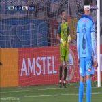 Bolivar [1]-1 Jorge Wilstermann - Erwin Saavedra penalty 23'