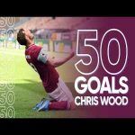 Chris Wood's 50 goals for Burnley
