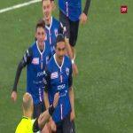FC Thun 0 - [1] FC Aarau - Mickaël Almeida 42' (great goal)