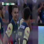 Pachuca 1-[1] America: 45+2' Leo Suarez Rocket Liga MX Quarterfinals 1st Leg