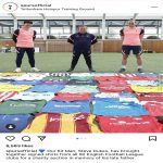 Tottenham's kit man Steve Dukes is launching an auction of signed football shirts to raise money for Essex & Herts Air Ambulance