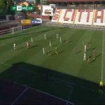 Cittadella 2-0 Monza - Enrico Baldini 22'
