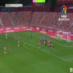 Girona 1-0 Sporting Gijon - Juanpe 43'