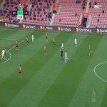 Southampton 0-1 Leeds - Patrick Bamford 73'