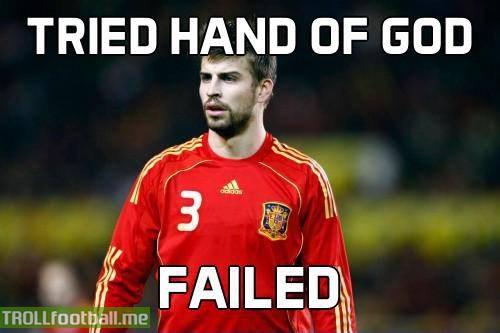 Lol Pique Troll Football
