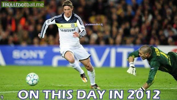 Today in History : Torres trolled Camp Nou