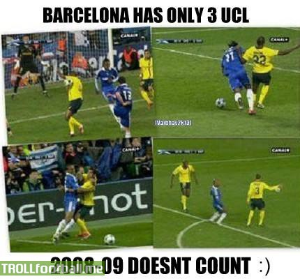Today in History : Barca's controversial 1-1 draw at Stamford Bridge