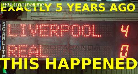 Today in History : Liverpool 4-0 Real Madrid