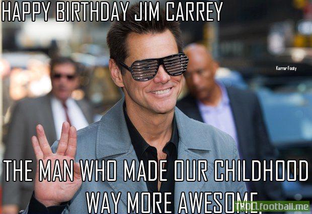 Happy Birthday Jim Carrey