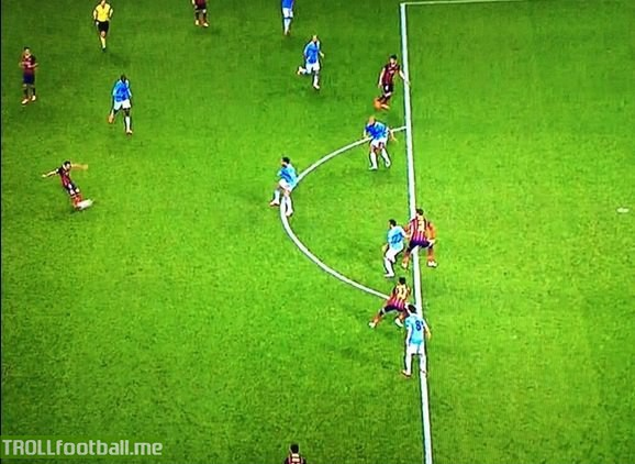 Uefalona they said, Fabregas was onside they never said