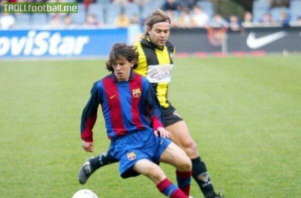 Today in History : Messi made his Barça B debut against Mataró ... the rest is history!