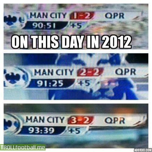 Today in History : Best ever finish to EPL in history