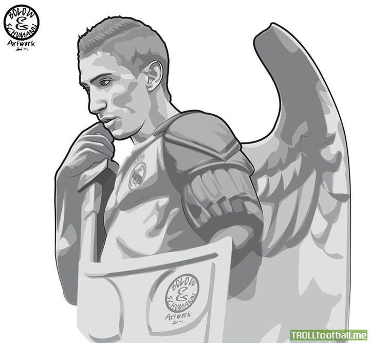 Cartoon Real Madrid Drawing