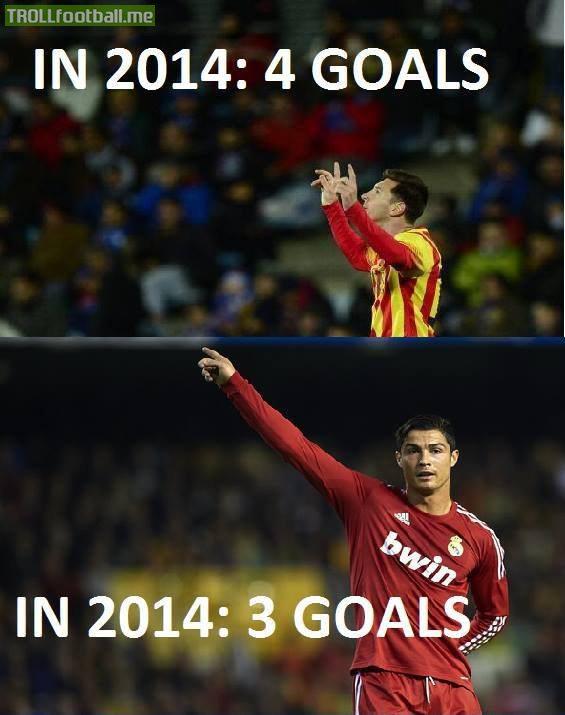 Lionel Messi 4   Cristiano Ronaldo 3