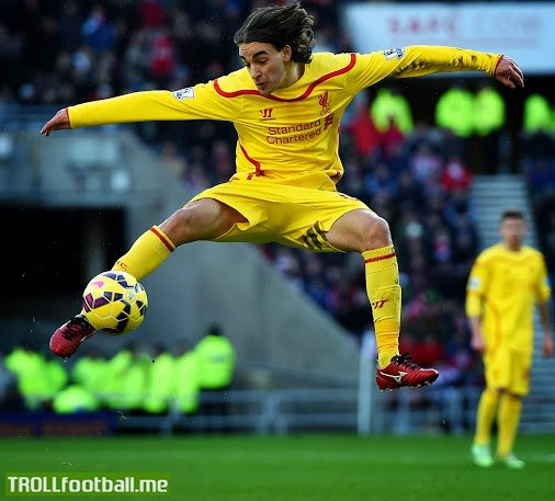 Remembering the most epic goal last weekend - Lazar Markovic of Liverpool