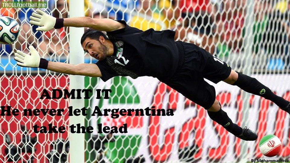 Haghighi - Iran's Star Against Argentina