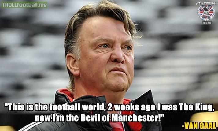 Louis van Gaal quote on Football