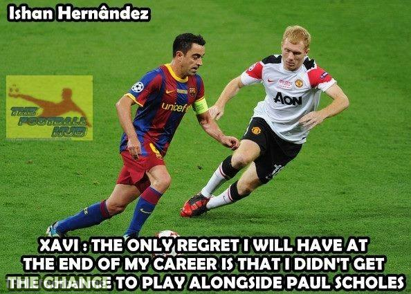 Xavi's only regret
