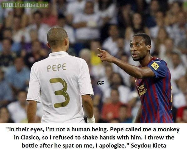 Seydou Kieta on Pepe