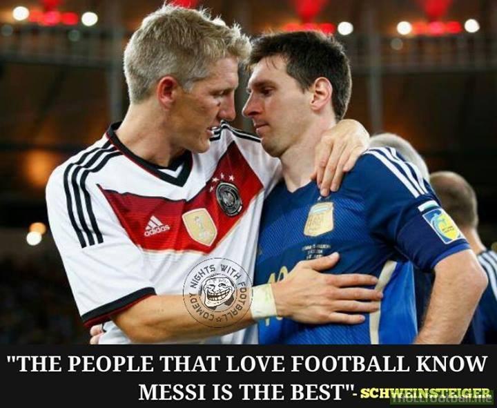 Bastia on Leo Messi!