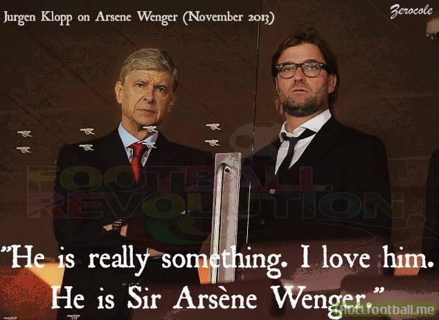 Klopp on Wenger !
