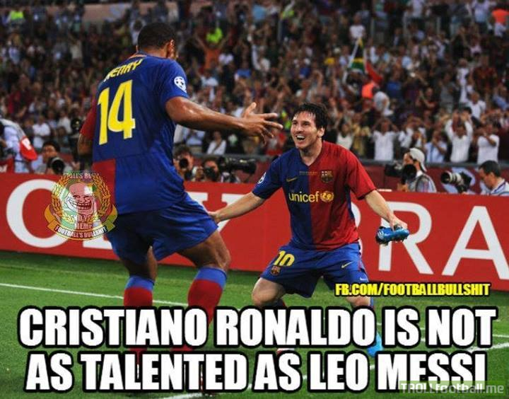 Theirry Henry On Cristiano Ronaldo Vs Leo Messi