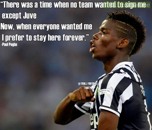Paul Pogba ... loyal to Juve