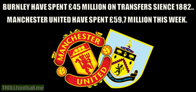 Burnley vs Manchester United transfers