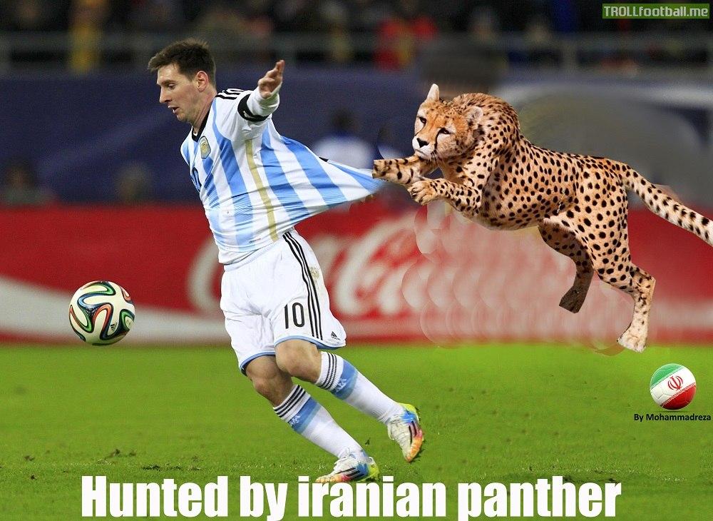 Messi... Hunted!