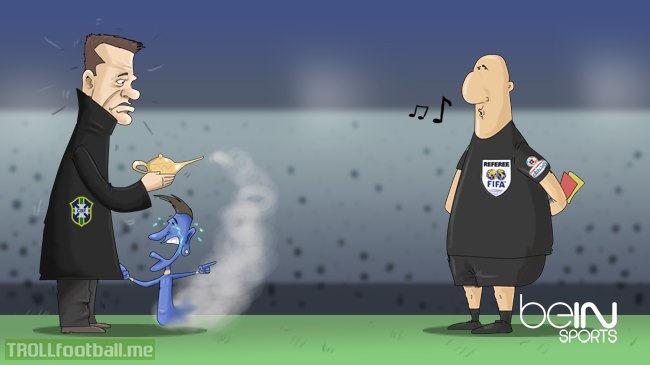 Cartoon: Neymar in Copa America