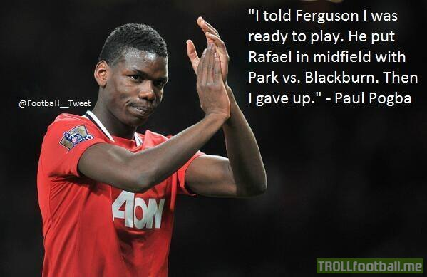 Paul Pogba Quote On Why He Left Manchester United Troll Football