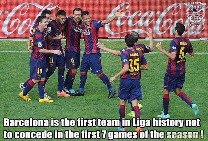 FC Barcelona creating history